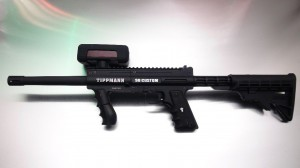 Barracuda Lasertag gun mit Schulterstütze
