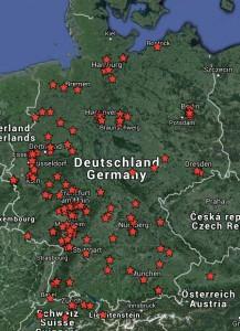 Lasertag-Standorte Deutschland