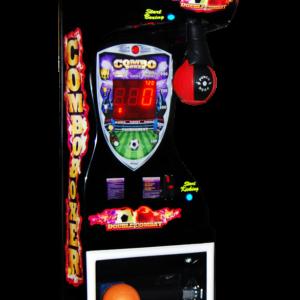 Kombination aus Boxautomat und Fußballautomat