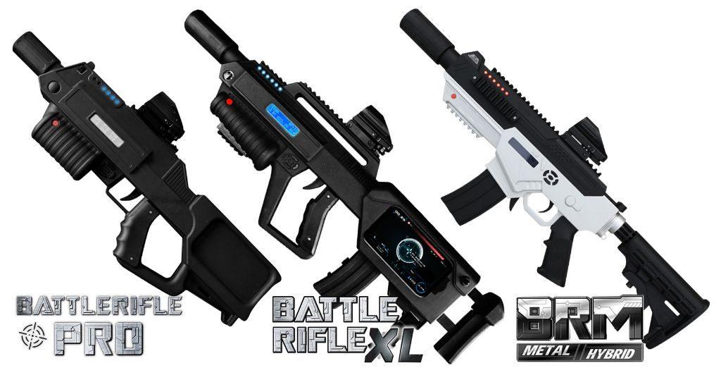 Lasertag Equipment Battle Rifle Pro
