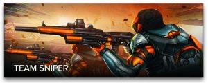 Lasertag Spielmodus Team Sniper