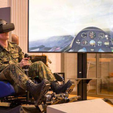 VR-Simulator im Höhenflug