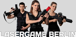 Lasergame Berlin Lasertag Equipment